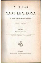 A Pallas Nagy Lexikona II. - Régikönyvek