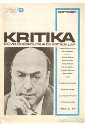 Kritika 73/9 - Pándi Pál - Régikönyvek