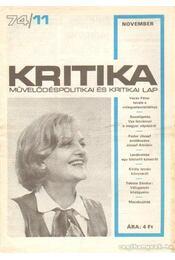 Kritika 74/11 - Pándi Pál - Régikönyvek