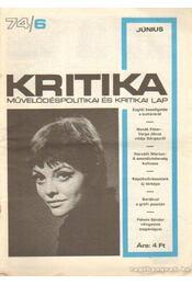 Kritika 74/6 - Pándi Pál - Régikönyvek