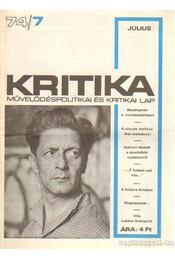 Kritika 74/7 - Pándi Pál - Régikönyvek
