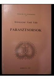 Parasztsorsok - Régikönyvek