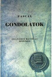 Gondolatok - Pascal, Blaise - Régikönyvek