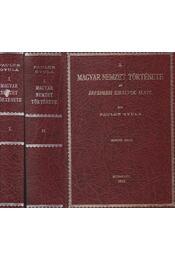 A magyar nemzet története az Árpádházi királyok alatt I-II. (Reprint) - Pauler Gyula - Régikönyvek