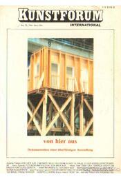 Kunstforum 1984. Sept./Okt. - Pawolski, Andrea (szerk.) - Régikönyvek