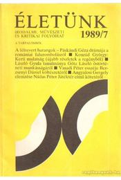 Életünk 1989/7 - Pete György - Régikönyvek