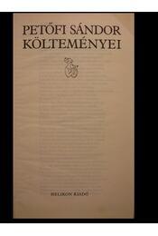 Petőfi Sándor költeményei - Régikönyvek