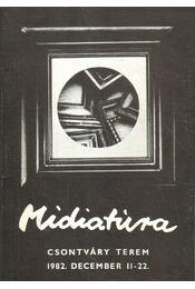 Midiatúra - Pogány Gábor - Régikönyvek
