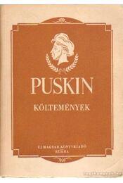 Költemények és egyéb verses munkák - Puskin - Régikönyvek
