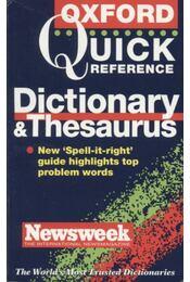 Dictionary & Thesaurus - Régikönyvek