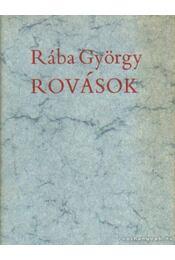 Rovások - Rába György - Régikönyvek
