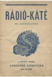 Rádió-káté - Régikönyvek