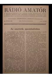 Rádió Amatőr III. évf 7-12. szám - Régikönyvek