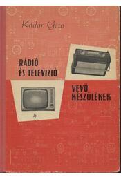 Rádió és televízió vevőkészülékek 1964-1966 - Régikönyvek
