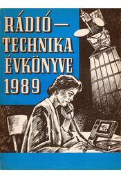 Rádiótechnika évkönyve 1989 - Régikönyvek