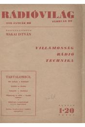 Rádióvilág 1946. - Régikönyvek