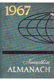 Nemzetközi Almanach 1967 - Radó Sándor - Régikönyvek