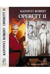 Operett II. - Rátonyi Róbert - Régikönyvek