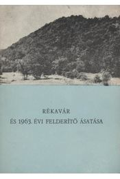 Rékavár és 1963. évi felderítő ásatása - Régikönyvek
