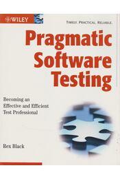 Pragmatic Software Testing - Rex Black - Régikönyvek