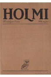 Holmi 1996. május 5. szám - Réz Pál - Régikönyvek
