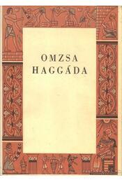 Haggáda - Ribáry Géza dr., Munkácsi Ernő dr. - Régikönyvek