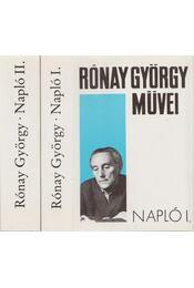 Napló I-II. - Rónay György - Régikönyvek