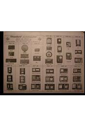 Standard radio - 15 év - Régikönyvek