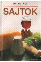 Sajtok - Dr. Oetker - Régikönyvek