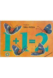 1+1=2 Rajzos számtan - Sáli Róza - Régikönyvek