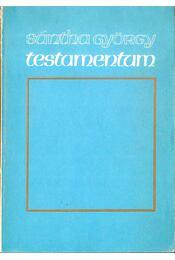 Testamentum - Sántha György - Régikönyvek