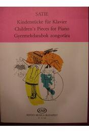 Gyermekdarabok zongorára - Régikönyvek