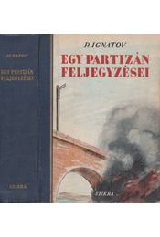 Egy partizán feljegyzései - Régikönyvek