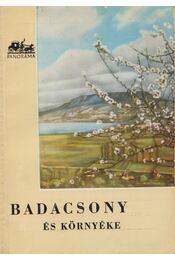 Badacsony és környéke - Régikönyvek