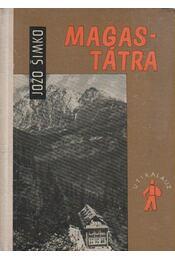 Magas-Tátra útikalauz - Régikönyvek