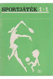 Sportjáték 1x1 - Régikönyvek