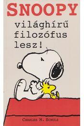 Snoopy világhírű filozófus lesz! - Schulz, Charles M. - Régikönyvek