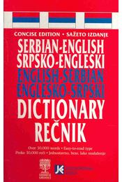 Serbian-English English-Serbian Dictionary - Régikönyvek