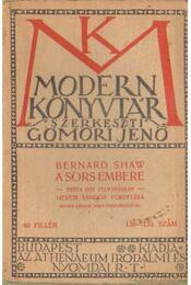 A sors embere - Shaw, Bernard - Régikönyvek