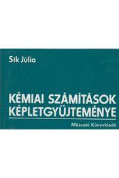 Kémiai számítások képletgyűjteménye - Sík Júlia - Régikönyvek