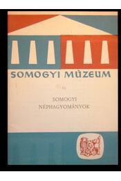 Somogyi néphagyományok - Régikönyvek