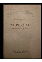 Sopianae, Pécs rómaikori neve - Régikönyvek