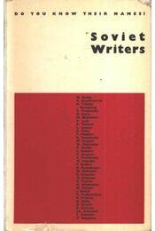 Soviet Writers - Régikönyvek
