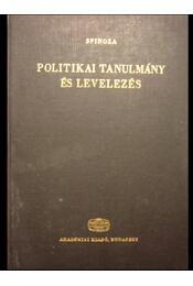 Politikai tanulmány és levelezés - Régikönyvek