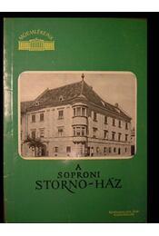 A soproni Storno-ház - Régikönyvek