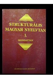 Strukturális magyar nyelvtan 1. - Régikönyvek