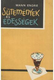 Sütemények és édességek - Régikönyvek