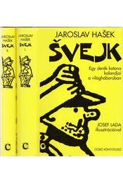 Svejk I-II. - Jaroslav Hasek - Régikönyvek