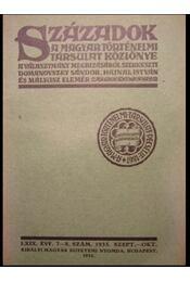 Századok LXIX. évf.7-8. szám - Régikönyvek