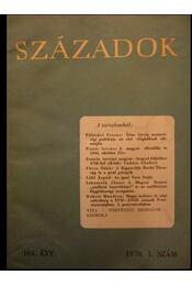 Századok 1970. I-VI. szám - Régikönyvek
